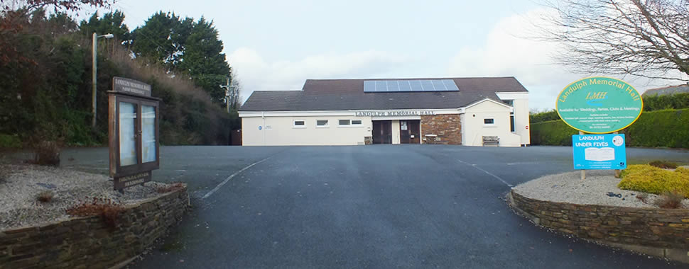 Landulph Memorial Hall, Cargreen, Saltash, PL12 6NF