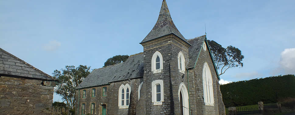 Methodist Church in Landulph Parish, Cornwall
